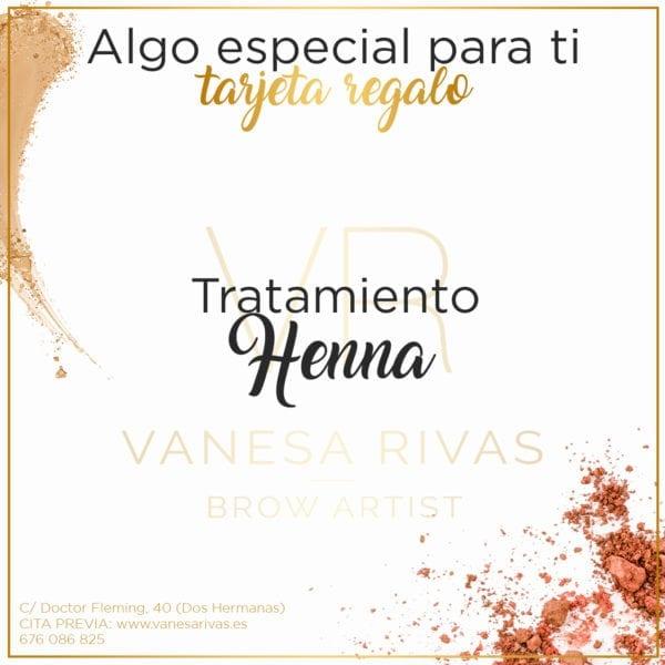 Tarjeta regalo tratamiento de Henna 1