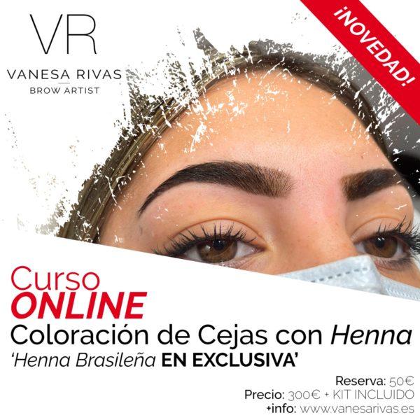 Curso OnLine tratamiento Henna 1